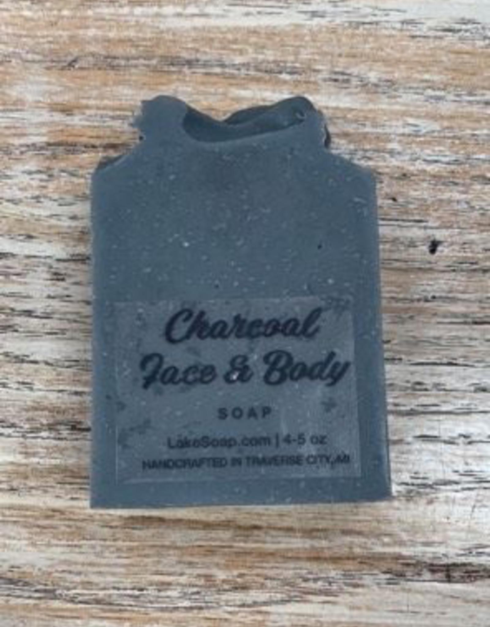 Beauty Lake Soap, Charcoal Face & Body