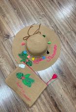 Hat Hello Summer Floppy Hat