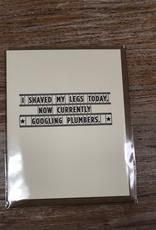 Card Plumbers Card