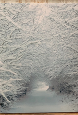 Decor Snow Covered Tree Light Up
