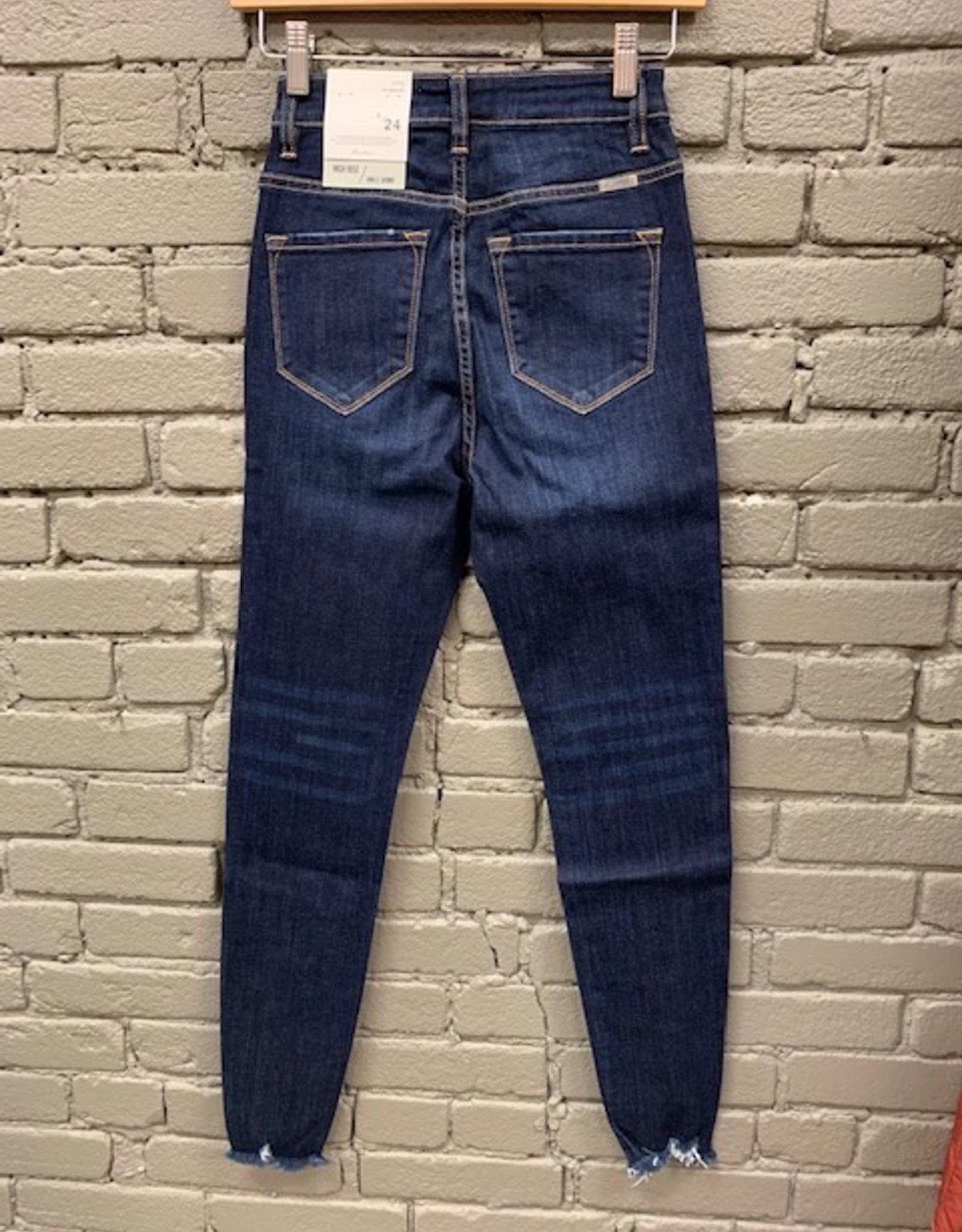 Jean Super HIgh Button Skinnies Jean