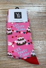 Socks Women's Crew Socks, EatMore Cake