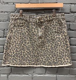 Skirt Stevie Leopard Skirt
