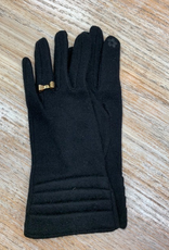 Gloves Knit Touchscreen Gloves w/ Bow