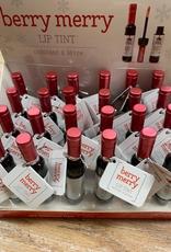 Beauty Christmas Wine Lip Gloss