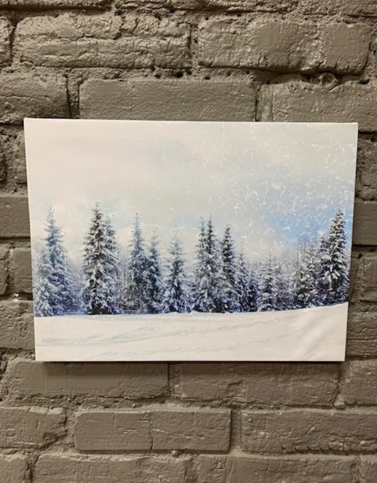 Decor LED Christmas Tree Print