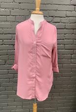 Long Sleeve Mandy Button Up Top