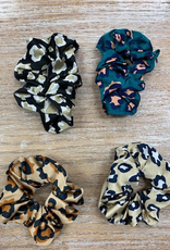 Beauty Animal Print Hair Scrunchie