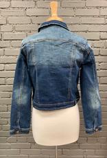 Jacket Tinna Dark Wash Denim Jacket