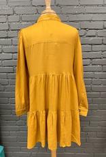 Dress Clover Buttondown Dress