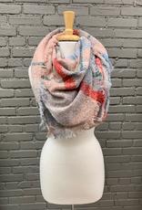 Scarf Large Plaid Blanket Scarf