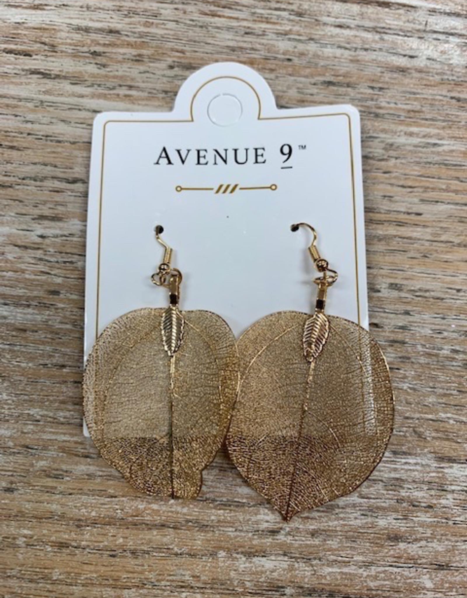 Jewelry Alloy Leaf Earrings