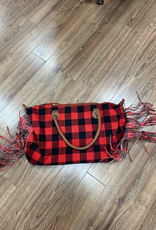 Bag Weekender Buffalo Fringe Bag