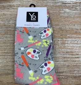 Socks Women's Crew Socks- Artist