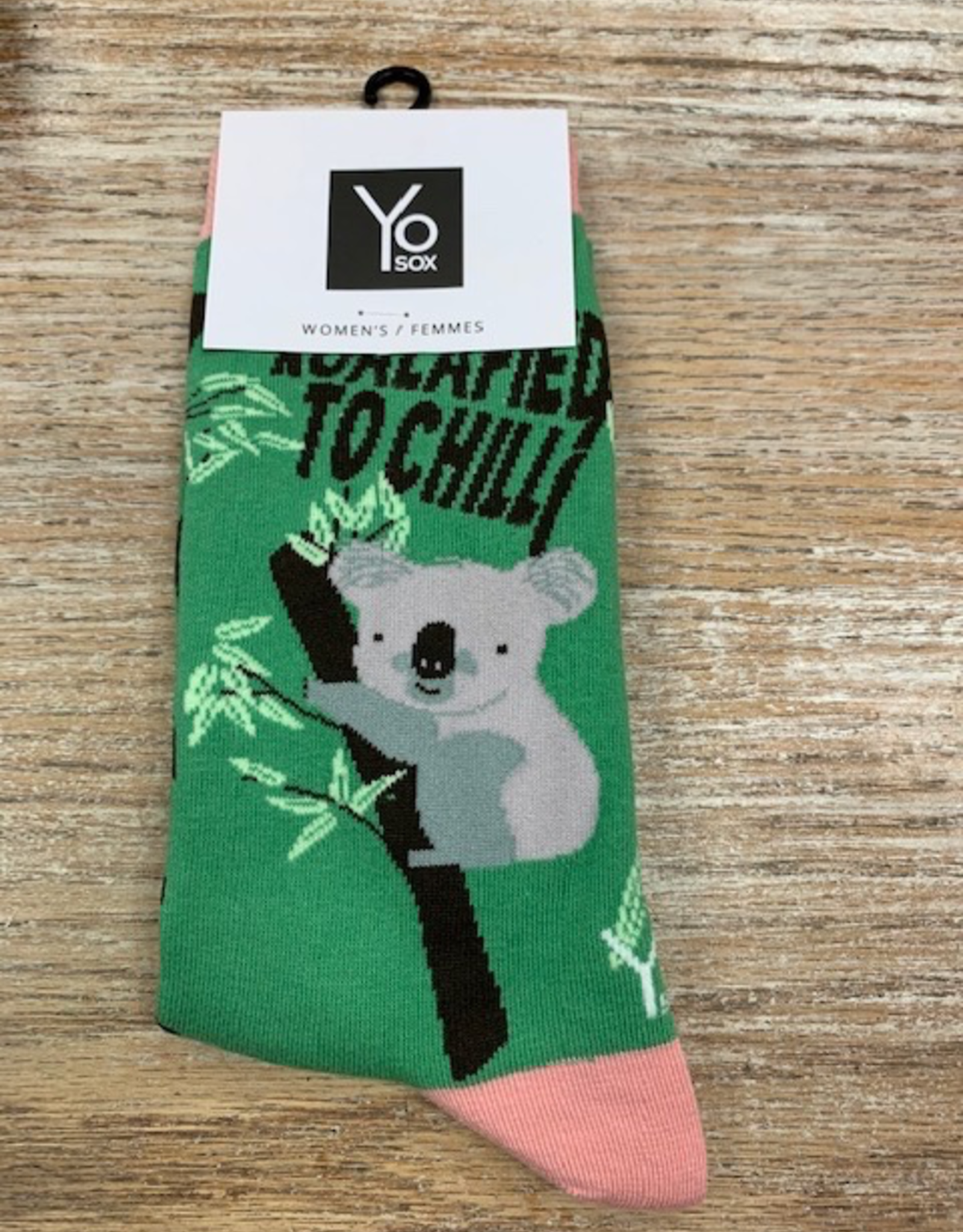 Socks Women's Crew Socks- KoalaFied