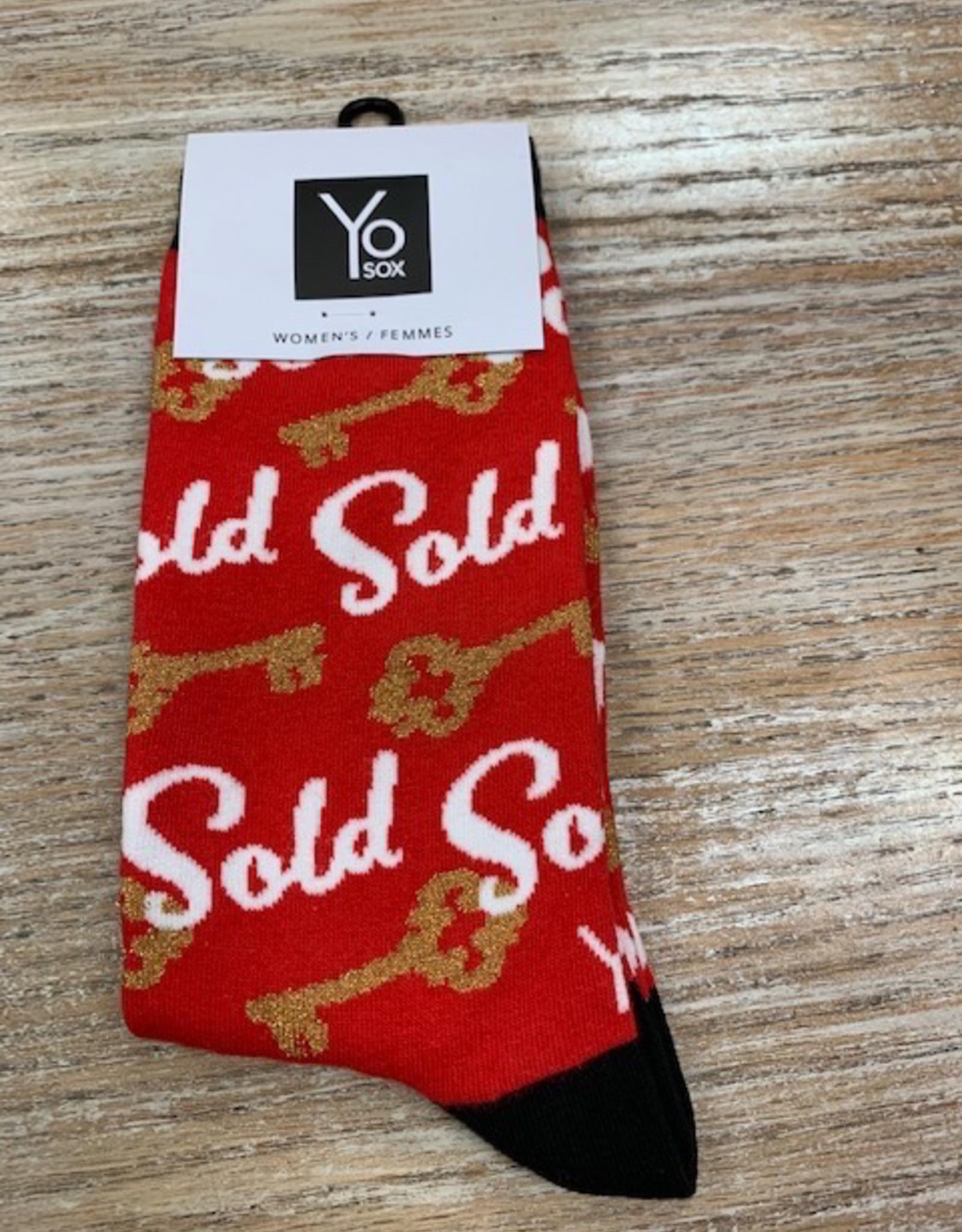 Socks Women's Crew Socks- RealEstate