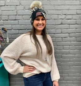 Sweater Lexi Ribbed Popcorn Sweater