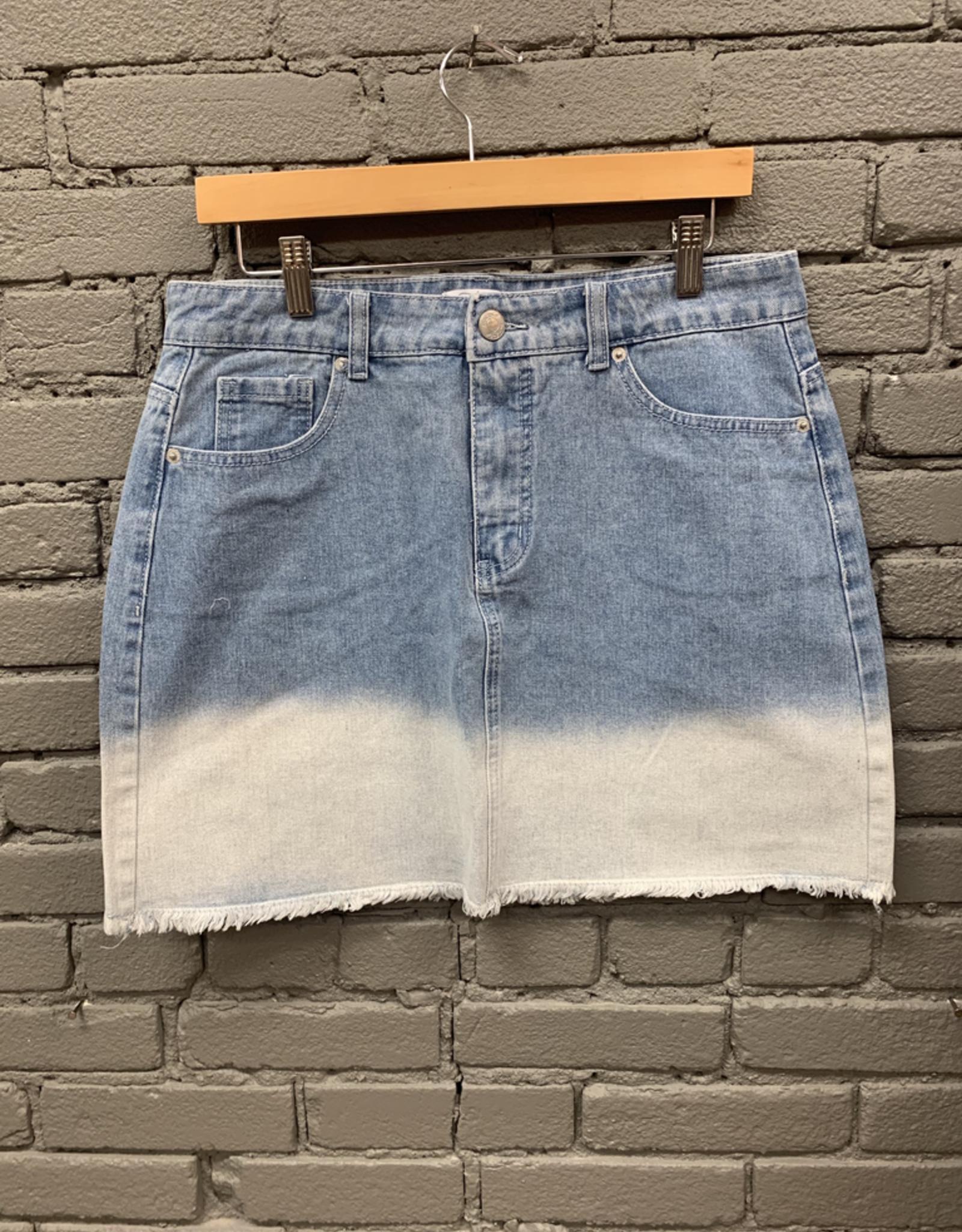 Skirt Posie Denim Ombre Skirt