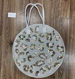Bag Leopard Jute Tote