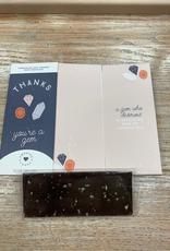 Card Thank You Chocolate Card