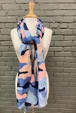 Scarf Shimmer Abstract Scarf
