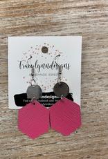 Jewelry TLD Pink Hexagon