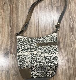 Bag Unconventionally Etched Shoulder Bag