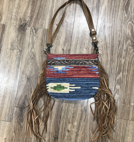 Bag Sunset HandTooled Bag