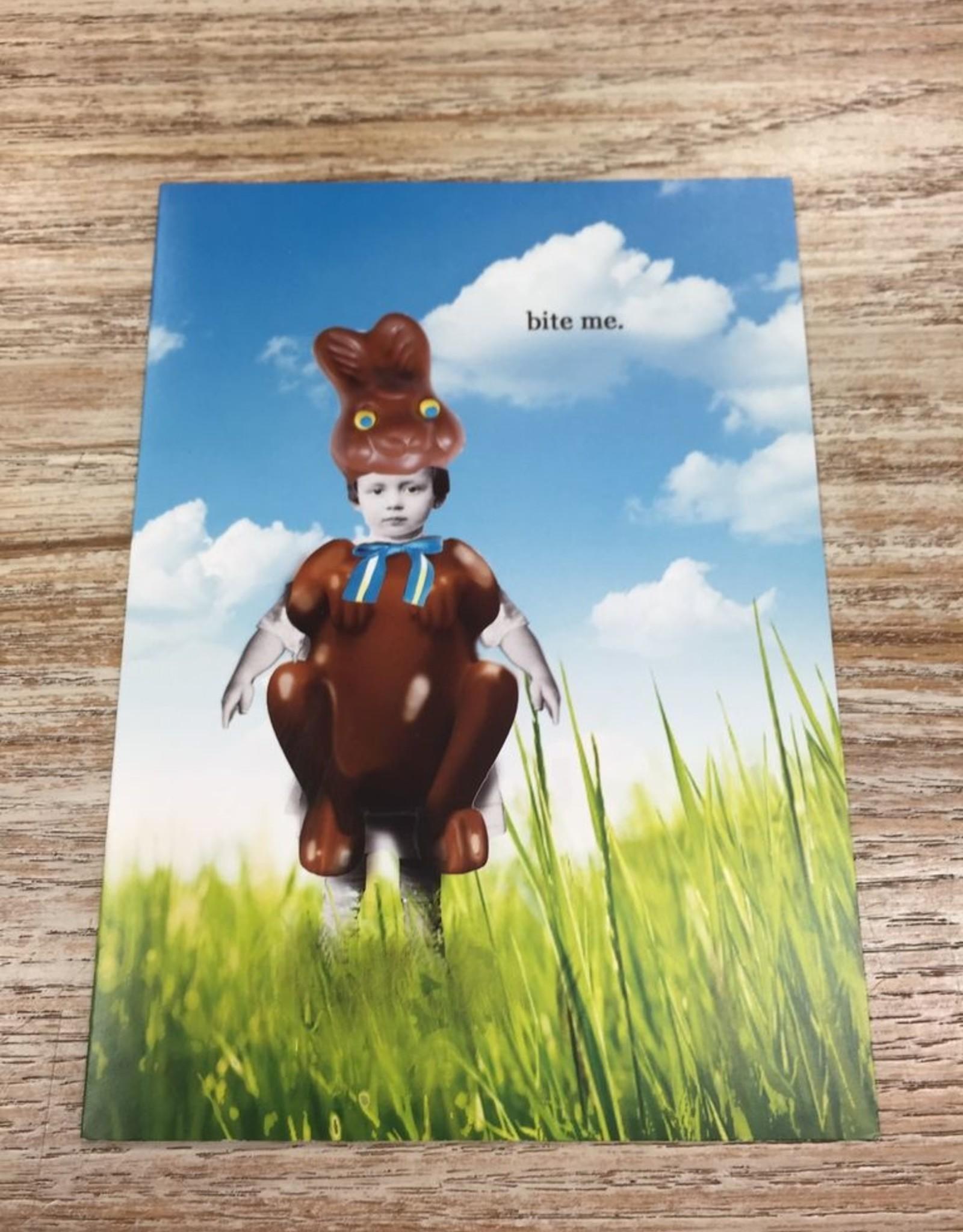 Card Bite Me Easter