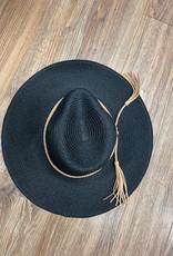 Hat Braided Tassel Fedora