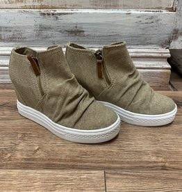 Shoes Arabelle Wedge Zipper Sneaker