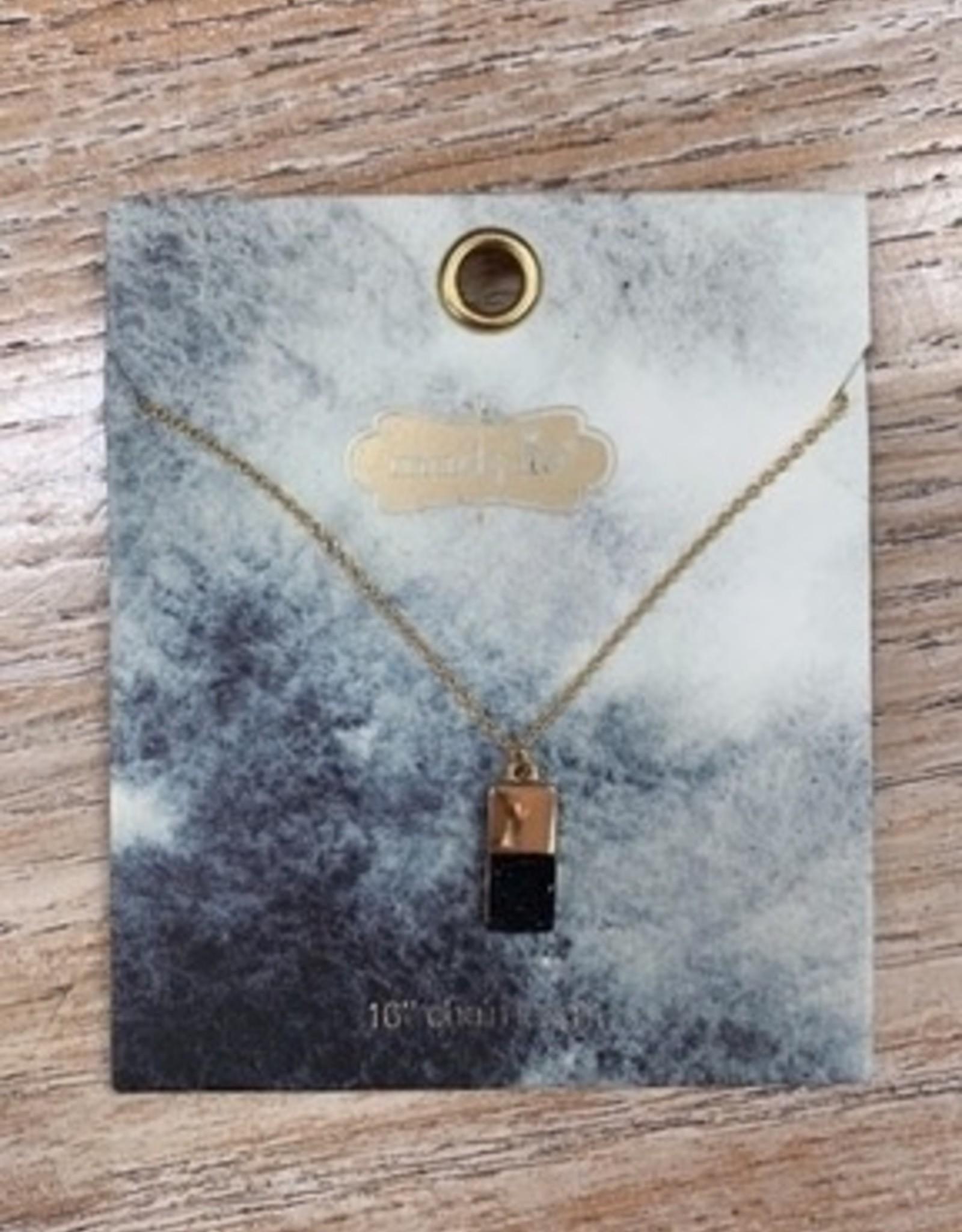 Jewelry Druzy Necklace