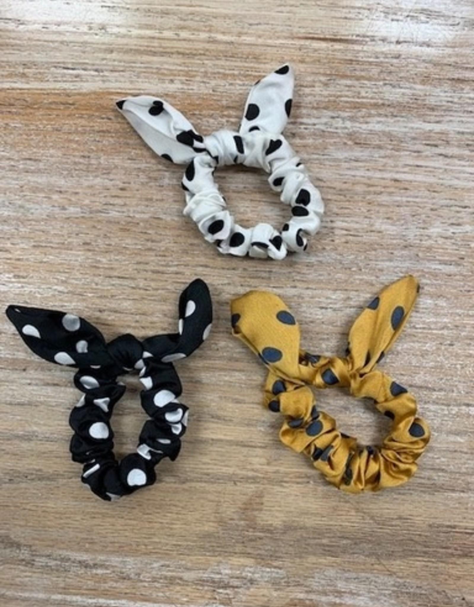 Accessory Polka Dot Rabbit Ear Hair Tie