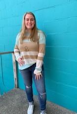 Long Sleeve Malibu Striped Top