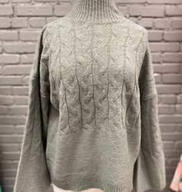Sweater Eve Cable Knit Sweater