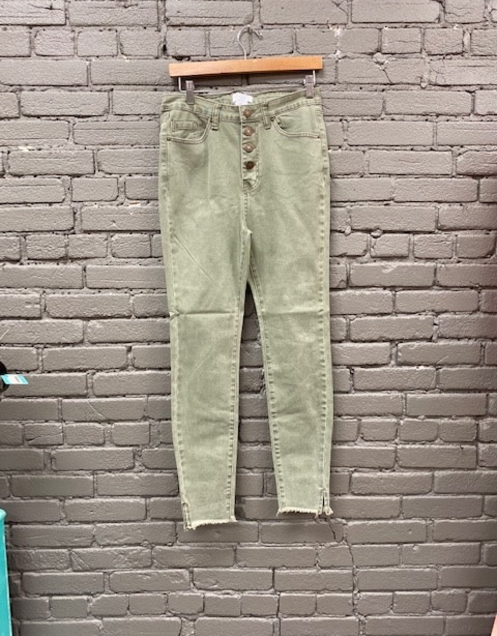 Jean Wells Button Fly Jeans