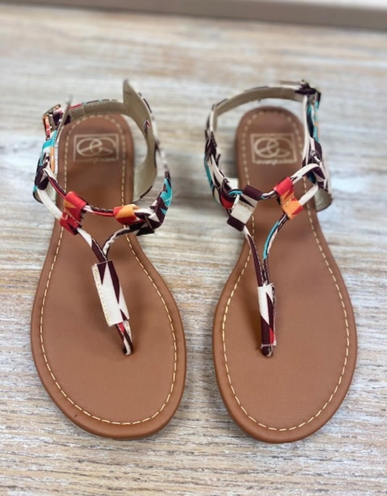 Shoes Aztec Buckle Sandals