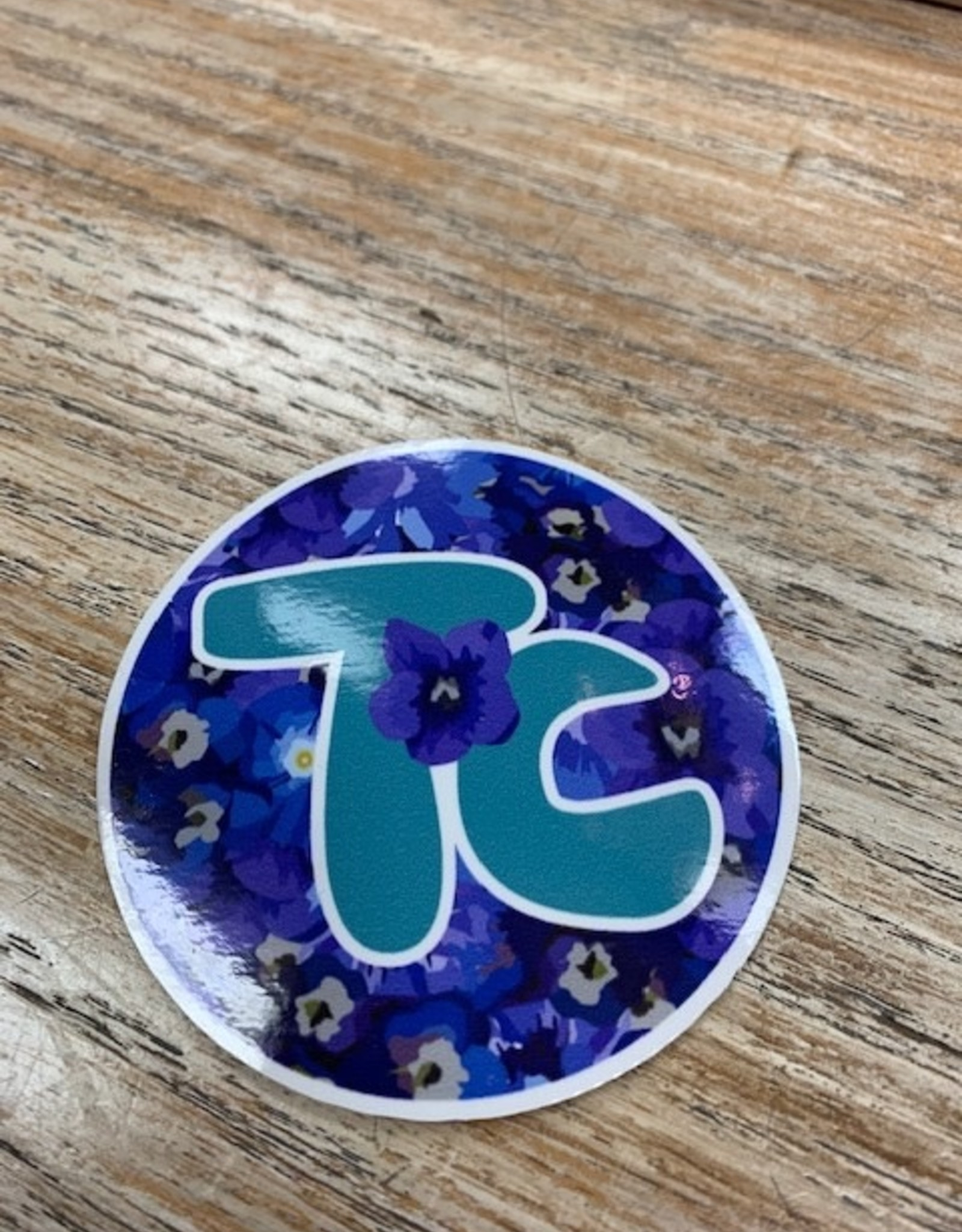 "Other Flower 3"" TC Sticker"