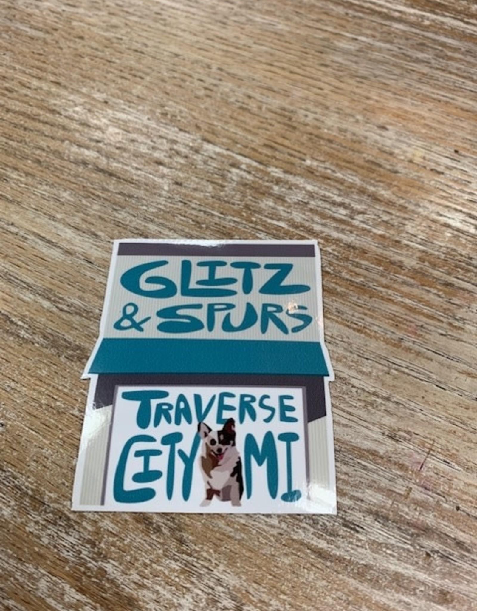 """Other Glitz & Spurs 3"""" Sticker"""
