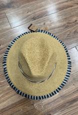 Hat Straw Hat w/ Fringe