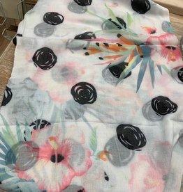 Scarf Flower Print Scarf