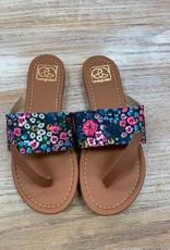 Shoes Mimi Dark Floral Sandal
