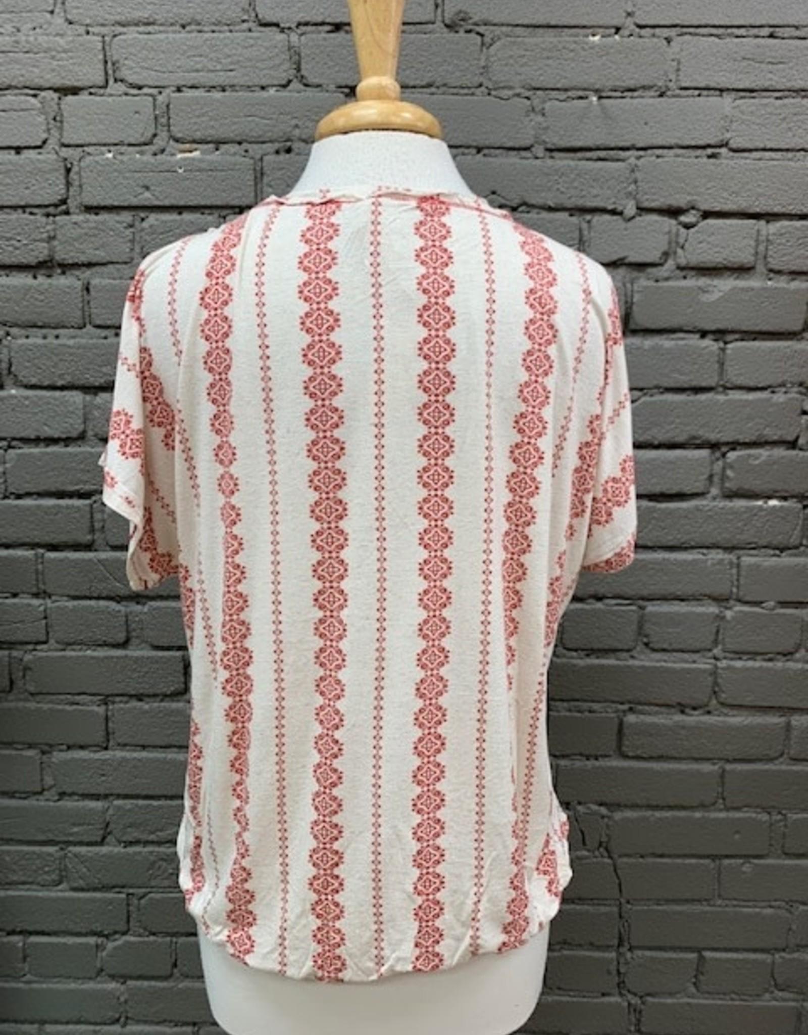 Shirt Kaylee Cold Shoulder Knit Top