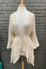 Cardigan Nina Crochet Bell Cardi