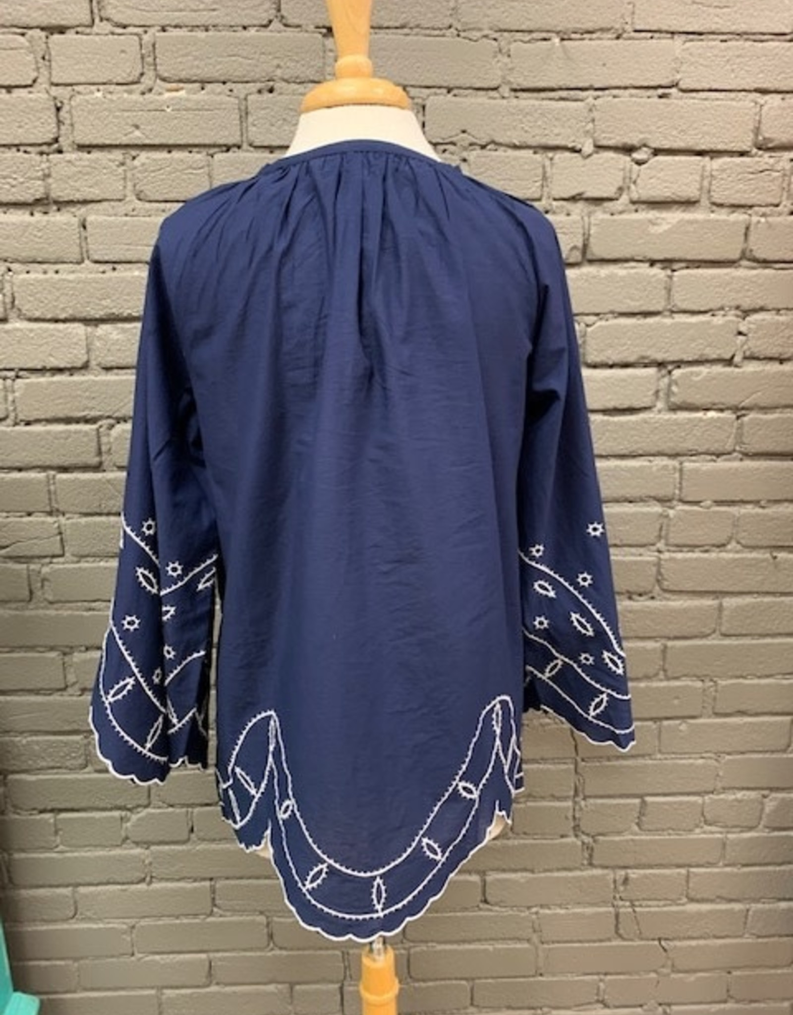 Top Parson Embroidered Tunic