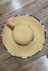 Hat CC Straw Tropical Hat