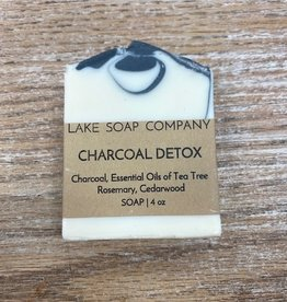 Beauty Lake Soap, Charcoal Detox