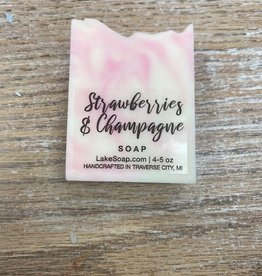 Beauty Lake Soap, Strawberries & Champagne