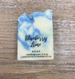 Beauty Lake Soap, Blueberry Lime