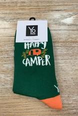 Socks Women's Crew Socks- HappyCamper